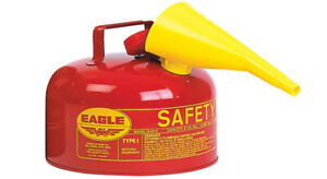 Eagle Steel Safety Gas Can 2 Gal