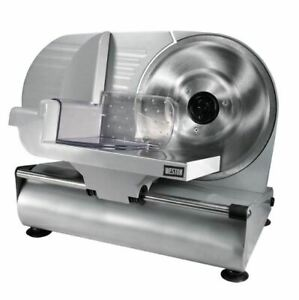 Food Slicer 9 Inch Blade Duty Meat Veggie Deli Cut Electric Machine Mandoline