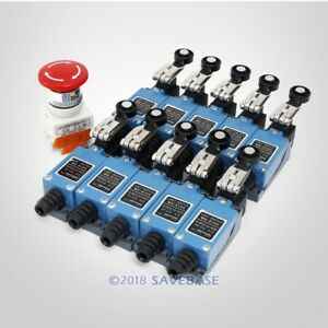 1 Piece Emergency Stop Switch 10 Pieces Limit Switches For Diy Cnc Kit