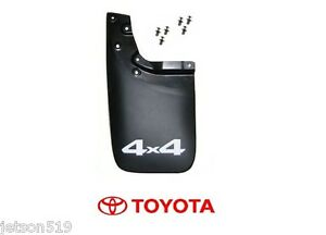 Rear Toyota Tacoma Oem Mud Flap 4x4 New Left Genuine Oe With Hardware