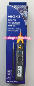 Hioki 3246 60 Pencil type Digital Multimeter With Penlight With Led Light New