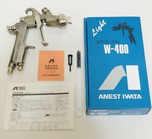Anest Iwata W 400 142g 1 4mm Gravity Spray Gun Without Cup New Ship From Japan
