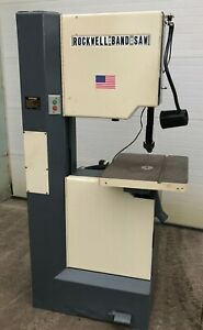 Rockwell Series 28 3x0 Vertical Bandsaw