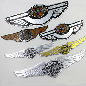 Car Modification For Harley Motorcycle Metal Stickers Anniversary Car Side Decal
