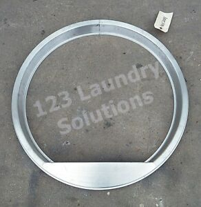 Chrome Dryer Door Ring For Huebsch Cissell Ipso Cld Rad 44112001 used