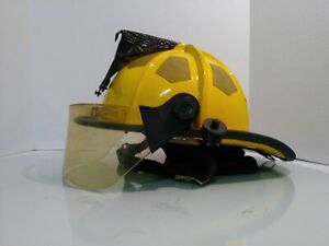 Bullard Firesome Series Yellow Fire Helmet Model r721