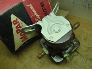 60 Plymouth Valiant Starter Solenoid Switch New
