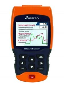 Actron Cp9690 Trilingual Elite Auto Scanner Scan Kit Obdi Obdii Abs Pid Mil Dtc
