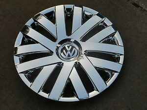16 Chrome Hubcaps Wheelcovers Vw Beetle Jetta Passat Eos New 4 Better Than Oem