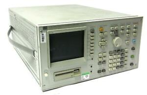 Hp 4145b Semiconductor Parameter Analyzer Calibrated On 5 1 2019