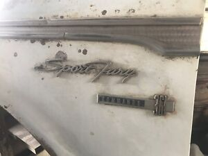 1963 Plymouth Sports Fury 361 Commando Left Fender 63 Ship Greyhound