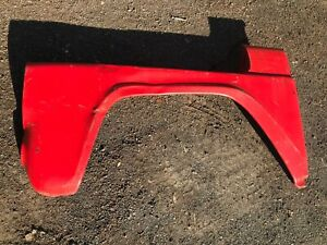 1957 1958 Ford F600 Truck Left Front Fender 57 58 Good Greyhound Ship Avail