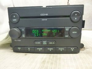04 05 06 07 Ford Focus Radio 6 Disc Cd Mp3 Player 7s4t 18c815 Cb Egy42