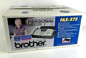 New Open Box Brother Fax 575 Personal Fax Phone And Copier