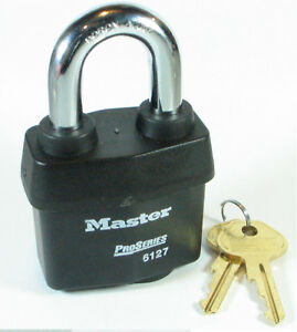 Lock By Master 6127wska Keyed Alike Large Weather Sealed Heavy Duty