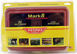 Parker Mccrory baygard P parmak Mark8 Multipower Fence Charger Red 30 Mile