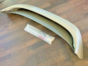 Manzo Abs Plastic Unpainted Rear Roof Spoiler W Led Fits Mazda3 10 13 Hatchback