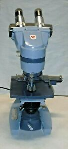 American Optical Ao Spencer Microscope With 3 Objectives Good Clean Condition