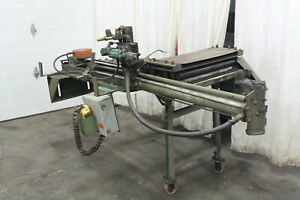 24 X 36 Feed Lease Stock Feeder And Straightener Yoder 61069