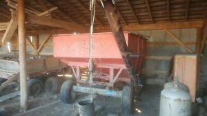 Kill Bros 250 Gravity Wagon W j And M Seed Auger