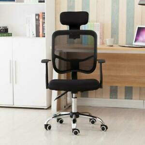 Ergonomic Mesh Task Drafting Chair With Lumbar Support Office Chair
