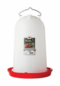 Little Giant 384 Oz Jar Feeder And Waterer For Poultry