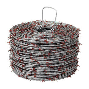 Red Brand 1320 Ft L 15 Ga 4 point Galvanized Steel Barbed Wire