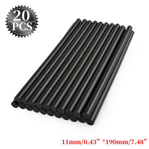 20pcs Sticks Strong Black For Glue Pulling Paintless Dent Repair Tools S5