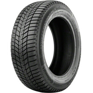 1 New Continental Wintercontact Si 215 45r17 Tires 2154517 215 45 17
