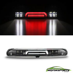 Black Third Brake Light For 2007 2013 Chevy Silverado Gmc Sierra 1500 2500 3500