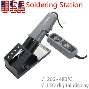 Yihua 938d Portable Hot Tweezers Mini Soldering Station 110v For Bga Smd Usa