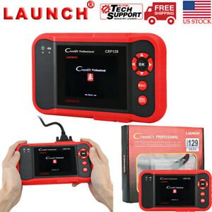 Launch X431 Creader Crp129 Obd2 Diagnostic Scanner Epb Abs Srs Sas Crp123 Viii