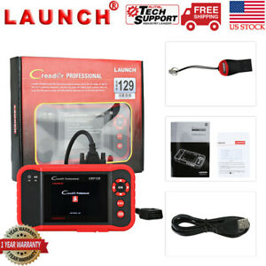 Launch Crp129 Engine Abs Srs Epb Sas Obd2 Code Reader Auto Diagnostic Scanner Us