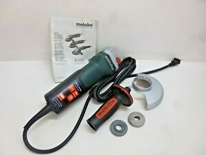 Nwe Metabo Angle Grinder 4 1 2 Wheel Dia 9 Amps 120vac 10 500 No Load Rpm