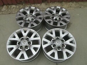 16 Toyota Tacoma Oe Wheels Oem Factory Alloy Rims Set 4