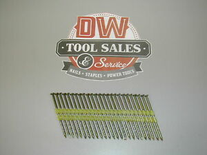 Hot Dip Galvanized Framing Nails 3 1 4 12d Screw Shank 21 Degree 2 000 Pla