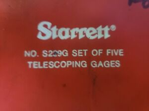 Starrett Telescoping Gages