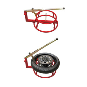 Biketek Motorcycle Tyre Changer Garage Equipment Tool