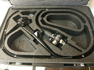 Olympus Cf 140l Colonoscope Video Endoscope With Carrying Case