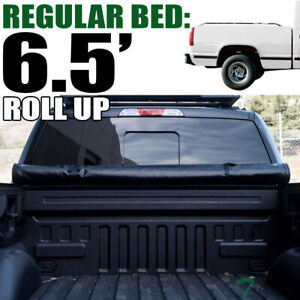 Topline For 1988 2000 Chevy gmc C10 C k 6 5 Ft Bed Lock Roll Up Tonneau Cover