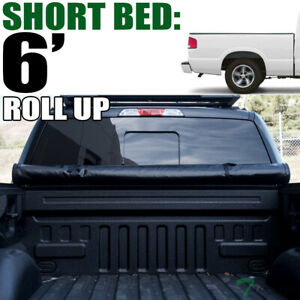 Topline For 1982 1993 Chevy S10 Sonoma 6 Bed Lock Roll Up Vinyl Tonneau Cover