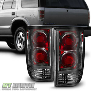 Smoke Replacement 1995 2005 Chevy Blazer Gmc Jimmy S10 Tail Lights Brake Lamps