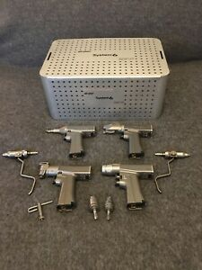 Stryker System 6 Orthopedic System W Attachments 6205 6206 6208 6209 6203 B3