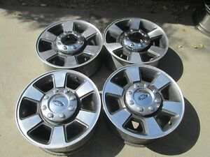 18 Ford F250 F350 Super Duty Factory Charcole Wheels Rims Used