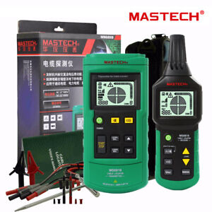 Mastech Ms6818 Professional Ac dc 12v 400v Wire Cable Tracker Metal Pipe Locator