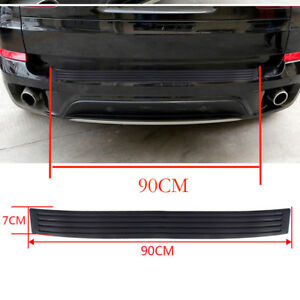 for Dodge Journey 2009 2018 Rear Outer Bumper Protector Cover Trunk Sill Plate