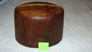 Millinery Mercantile Haberdashery Industrial Wood Hat Mold Stamped 5 6 7 8 C