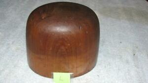 Millinery Mercantile Haberdashery Industrial Wood Hat Mold Stamp 81 6 3 4 L