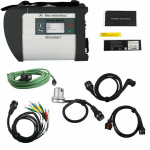 Dhl Mb Sd Connect Compact 4 Star Diagnostic Tool Wireless For Cars And Trucks