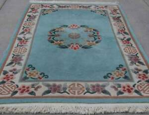 Hand Knitted Chinese Wool Rug